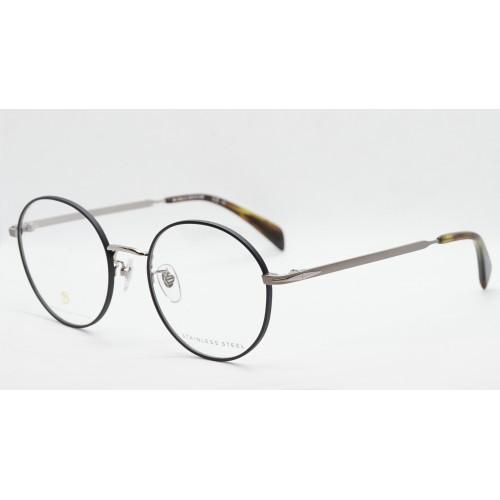 David Beckham Oprawa okularowa męska DB1058/F RHL - srebrny, czarny