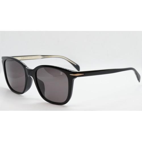 David Beckham Okulary przeciwsłoneczne męskie DB1030/F/S 086 - czarny, filtr UV 400