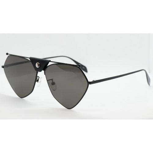 Alexander McQueen Okulary przeciwsłoneczne damskie AM0317S 001 - czarny, filtr UV 400
