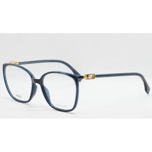 Fendi Oprawa okularowa damska FF0442/G PJP - granatowy