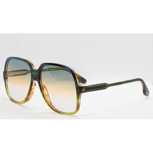 Victoria Beckham Okulary przeciwsłoneczne damskie VB626S 342 - szylkretowy, filtr UV 400