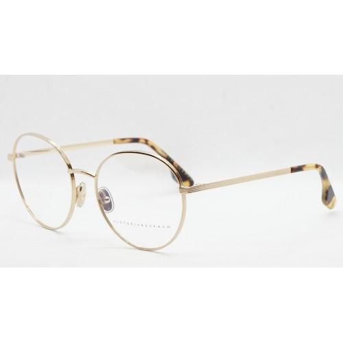 Victoria Beckham Oprawa okularowa damska VB228  - złoty