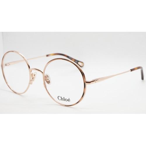 Chloe Oprawa okularowa damska CH0040O 002 - złoty, brązowy