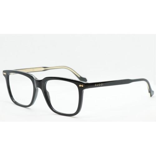 Gucci Oprawa okularowa męska GG0737O 005 - czarny