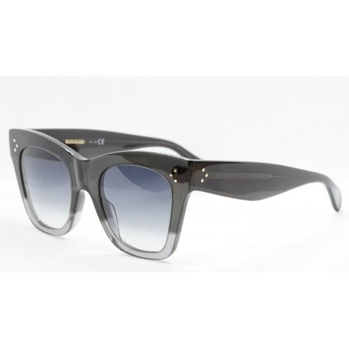 Celine Okulary przeciwsłoneczne damskie CL4004IN 20B - szary, transparentny, filtr UV 400