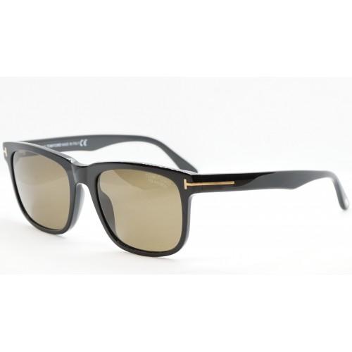 Tom Ford Okulary przeciwsłoneczne męskie TF775 01H - czarny, polaryzacja, filtr UV400