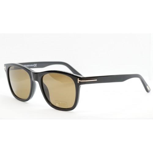Tom Ford Okulary przeciwsłoneczne męskie TF595 01J - czarny, filtr UV400
