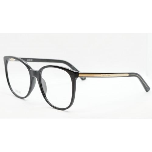 DIOR Oprawa okularowa damska DiorSpiritO SI 1200- czarny, złoty