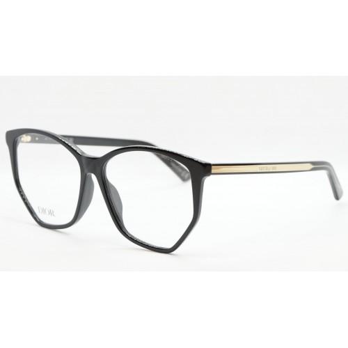 DIOR Oprawa okularowa damska DiorSpiritO BI 1200- czarny, złoty