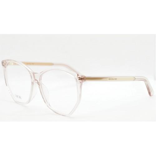 DIOR Oprawa okularowa damska DiorSpiritO BI 4000 - transparentny, różowy