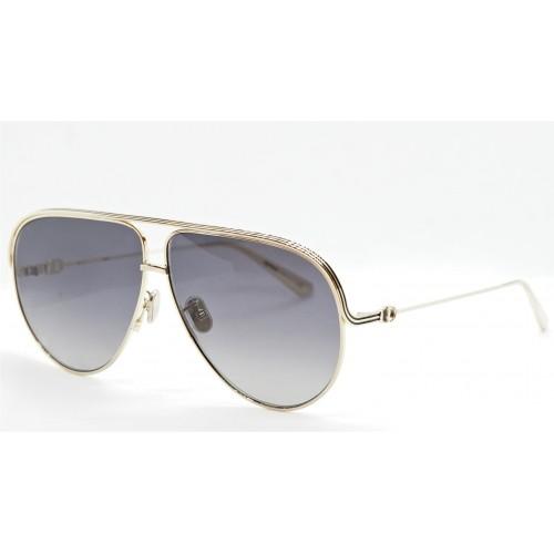 DIOR Okulary przeciwsłoneczne damskie EverDior A1U B0A1 - złoty, filtr UV400