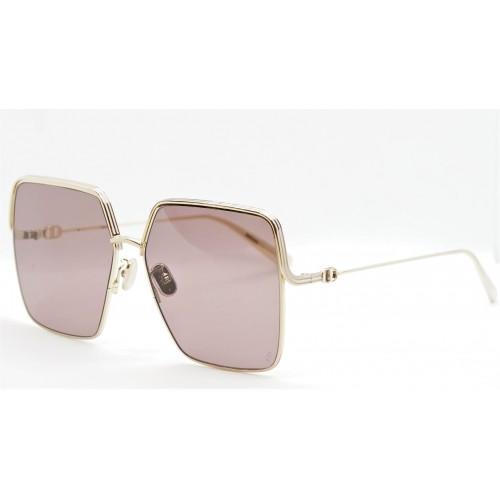 DIOR Okulary przeciwsłoneczne damskie EverDior S1U B0A1 - szary, złoty, filtr UV400