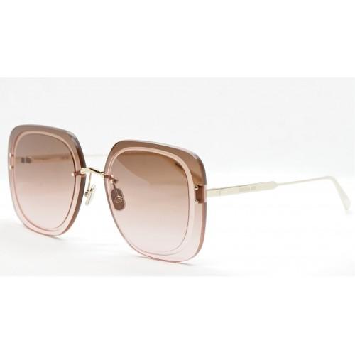 DIOR Okulary przeciwsłoneczne UltraDior SU B0F2 - czerwony, złoty, filtr UV400