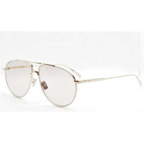 DIOR Okulary przeciwsłoneczne damskie DiorBlackSuit AU B0E0 - różowy, złoty, filtr UV400