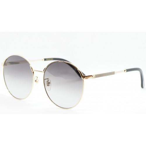Gucci Okulary przeciwsłoneczne damskie GG0206SK 001 - złoty, filtr UV400