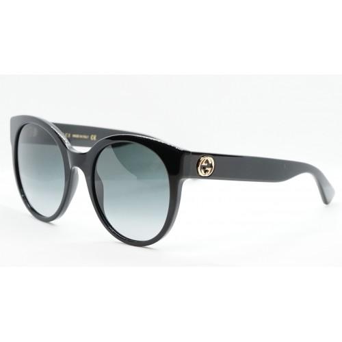 Gucci Okulary przeciwsłoneczne damskie GG0035S 001 - czarny, filtr UV400