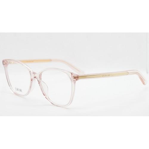 DIOR Oprawa okularowa damska DiorSpiritO B2I 4000 - transparentny, różowy