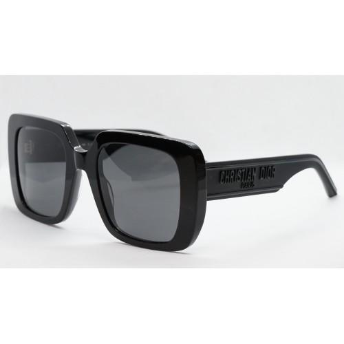DIOR Okulary przeciwsłoneczne damskie Wildior S3U 10A0 - czarny, filtr UV 400