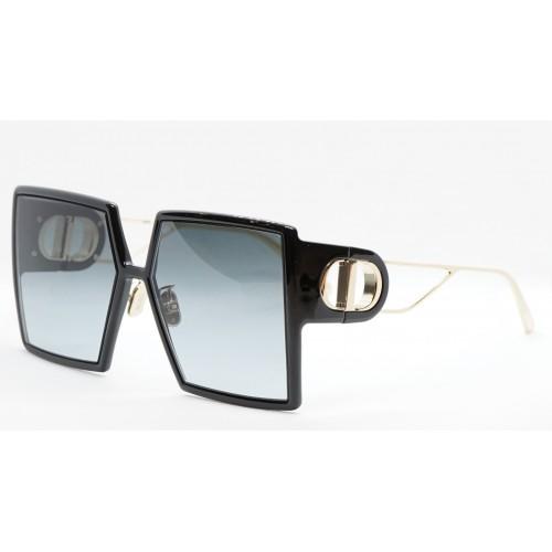 DIOR Okulary przeciwsłoneczne damskie 30Montaigne SU 12A1 - czarny, złoty, filtr UV400