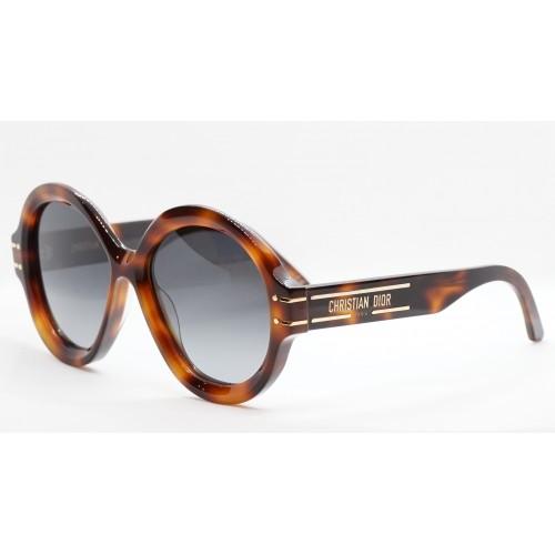DIOR Okulary przeciwsłoneczne damskie DiorSignature R1U 26A1 - szylkret, filtr UV 400