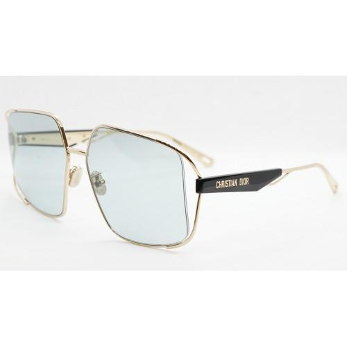 DIOR Okulary przeciwsłoneczne damskie ArchiDior S1U B0C0 - czarny, złoty, filtr UV400