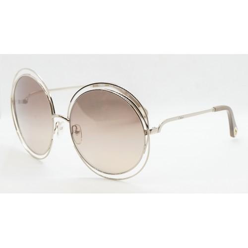 Chloe Okulary przeciwsłoneczne damskie 114SD 769 - srebrny, filtr UV 400