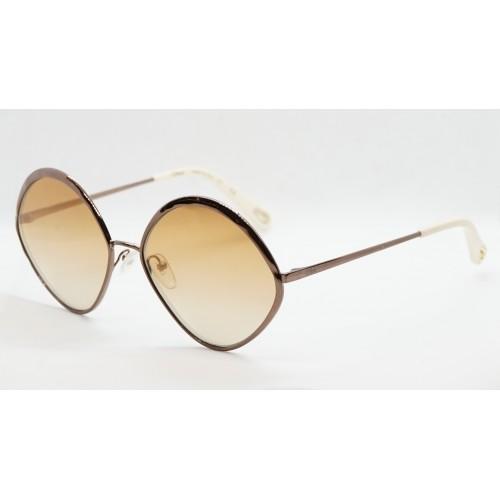 Chloe Okulary przeciwsłoneczne damskie CE168 888 - brązowy, filtr UV 400