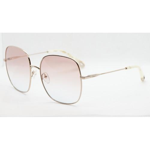 Chloe Okulary przeciwsłoneczne damskie CE172 896 - złoty, filtr UV 400