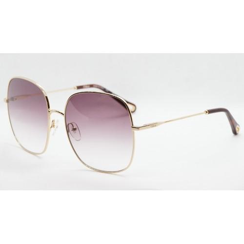 Chloe Okulary przeciwsłoneczne damskie CE172 894 - złoty, fioletowy, filtr UV 400