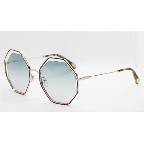 Chloe Okulary przeciwsłoneczne damskie CE132S 240 - złoty, filtr UV 400