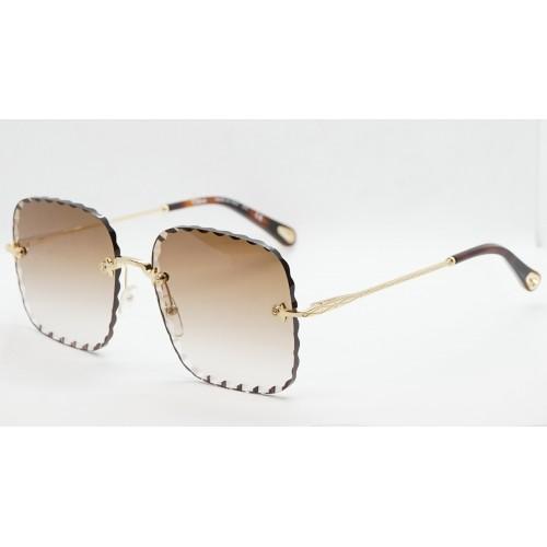 Chloe Okulary przeciwsłoneczne damskie CE161S 742 - złoty, filtr UV 400