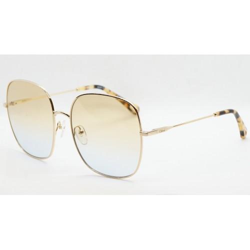 Chloe Okulary przeciwsłoneczne damskie CE172 895 - złoty, filtr UV 400