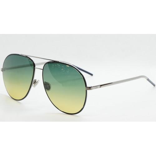 DIOR Okulary przeciwsłoneczne damskie/męskie DiorAstral DTYJE- srebrny, granatowy, filtr UV 400