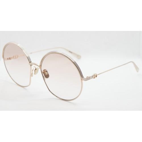 DIOR Okulary przeciwsłoneczne damskie EverDior R1U D0F1 - różowy, złoty, filtr UV400