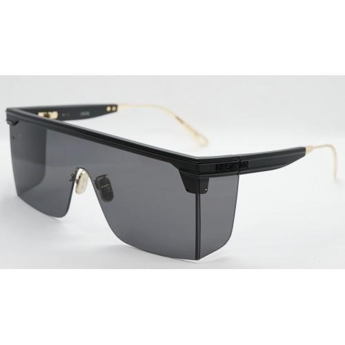 DIOR Okulary przeciwsłoneczne unisex DiorClub M1U 11A0 - czarny, filtr UV400