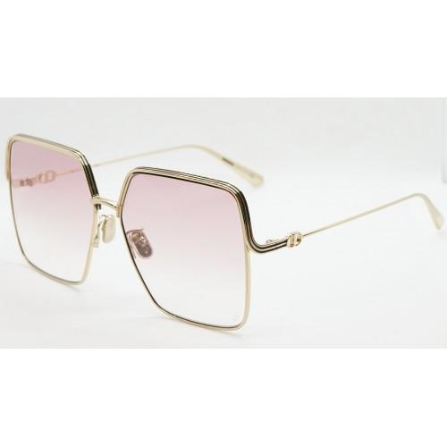 DIOR Okulary przeciwsłoneczne damskie EverDior S1U B0E1 - różowy, złoty, filtr UV400