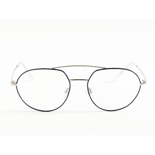 Germano Gambini Oprawa okularowa damska GG117 PB2 - czarny, srebrny