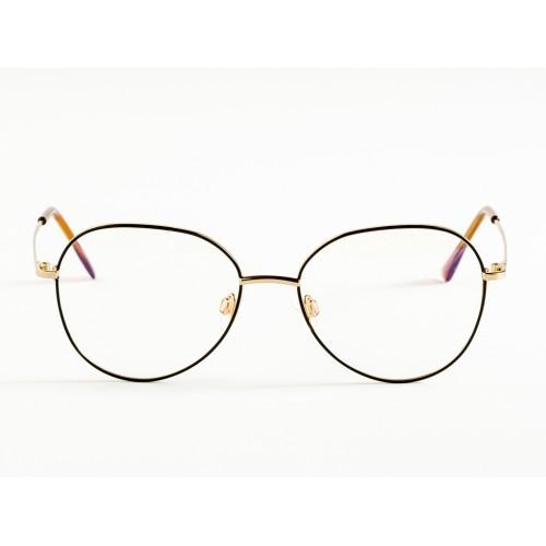 Germano Gambini Oprawa okularowa damska GG115 ONR - czarny, złoty