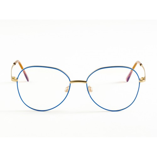 Germano Gambini Oprawa okularowa damska GG115 OMV - złoty, niebieski