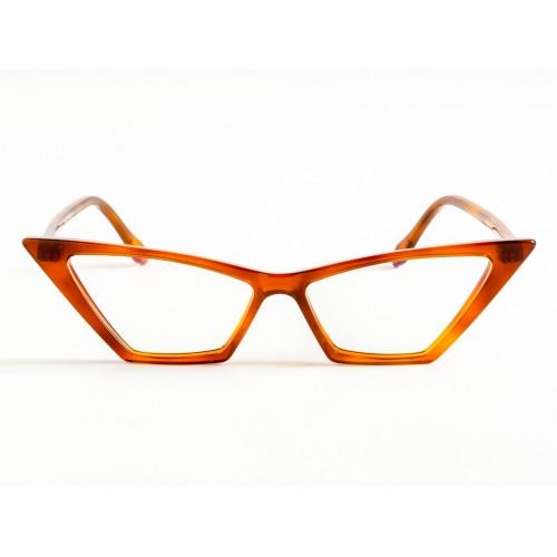 Germano Gambini Okulary korekcyjne damskie GG114 TC - transparentny, brązowy