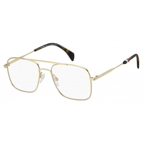 Tommy Hilfiger Oprawa okularowa damska TH1537 AOZ - złoty