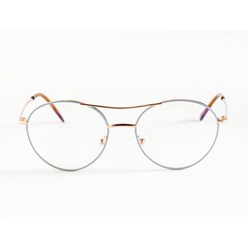 Germano Gambini Oprawa okularowa damska GG111 O2G - czarny, niebieski