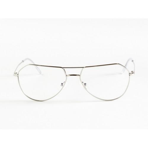 Germano Gambini Okulary korekcyjne damskie GG109 PL - srebrny