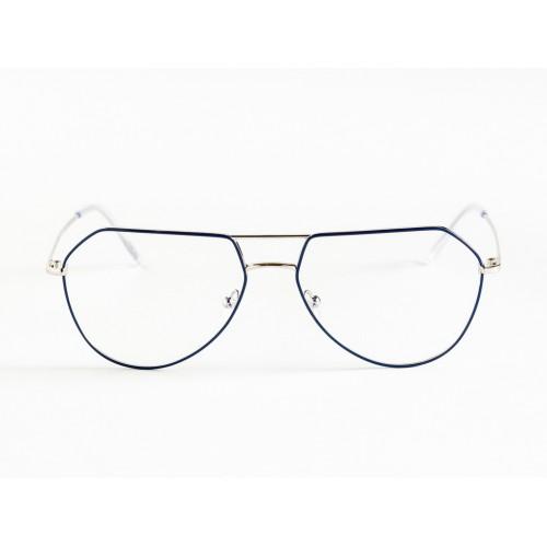 Germano Gambini Oprawa okularowa damska GG109 PBP - czarny, srebrny