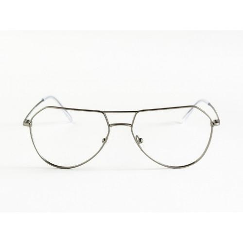 Germano Gambini Okulary korekcyjne damskie GG109 GUM - srebrny